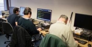 Sight Life's computer training trainees